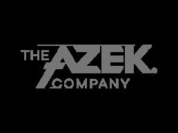 Logo for The Azek Company.
