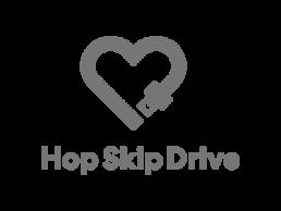 Logo for Hop Skip Drive.