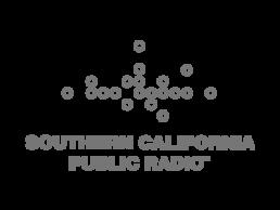 Logo for Southern California Public Radio.