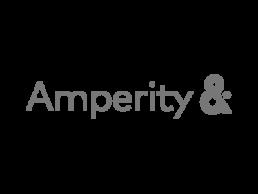 Logo for Amperity.