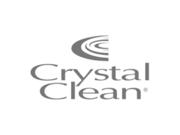 Logo for Crystal Clean.