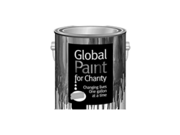 Logo for Global Paint for Charity.