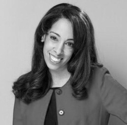 Black and white headshot photograph of Lizette Williams.