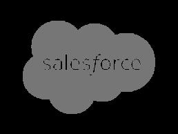 Logo for Salesforce.