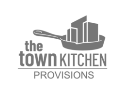 Logo for The Town Kitchen Provisions.