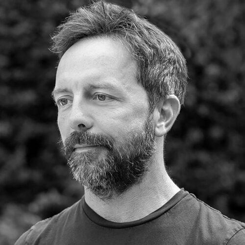 Black and white headshot of Brad Gerstner.
