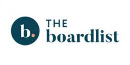 Logo for The Boardlist.
