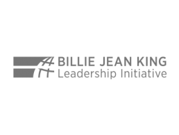 Logo for the Billy Jean King Leadership Initiative.