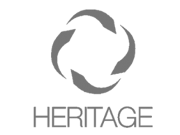 Logo for Heritage.