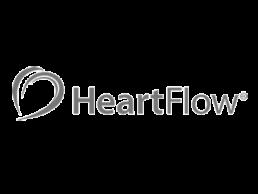 HeartFlow logo.